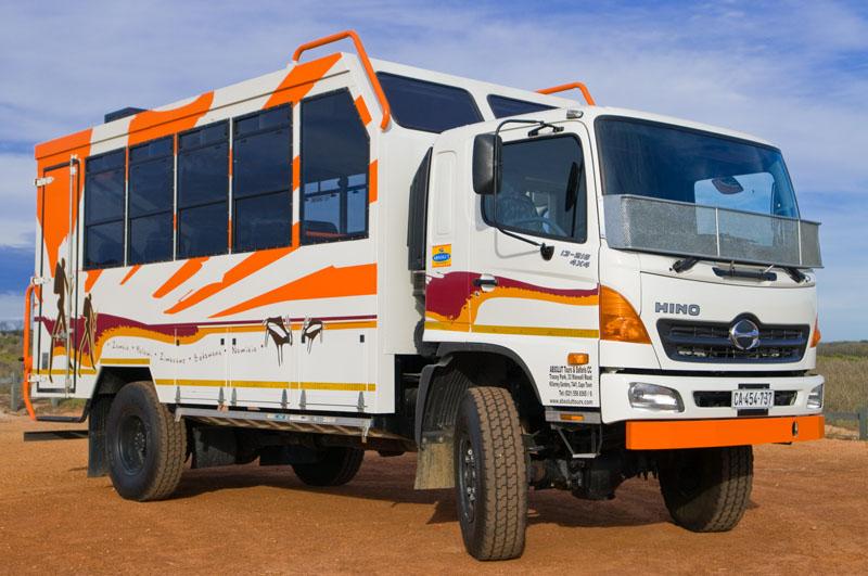 Overland trucks