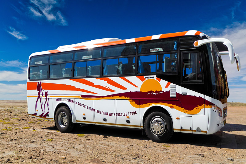 Absolut tours & safaris Semi-Luxury Coaches
