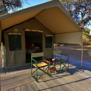 Soft adventure tours glamping