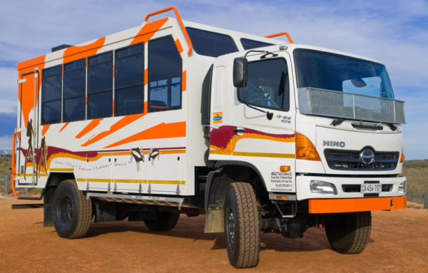 Absolut Tours & Safaris Overland trucks