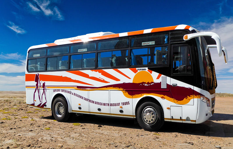 Absolut Tours & Safaris Semi-Luxury Coaches