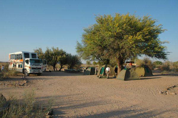 Camping tours