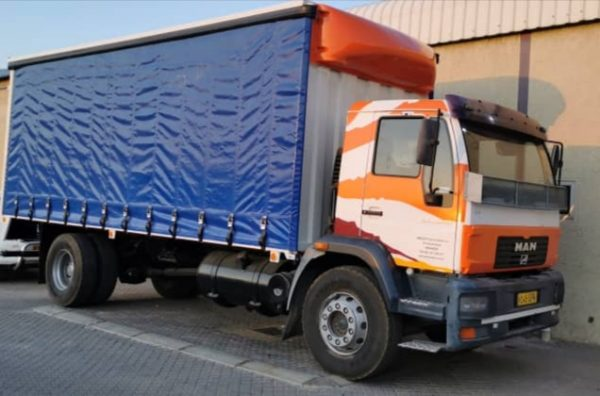 8 ton Tautliners